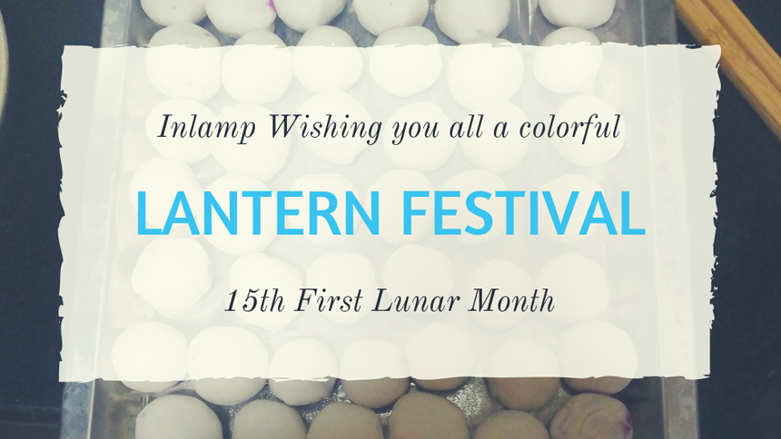 Inlamp Wish Everyone Happy Lantern Festival