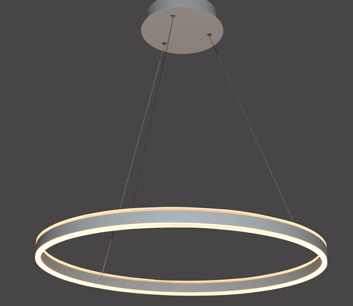 Round Shape Modern Dining Room LED Pendant Light with 4000K