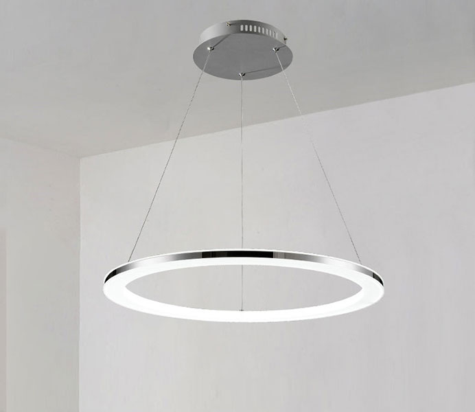 Contemporary Circular Led Pendant Lighting for Living Room