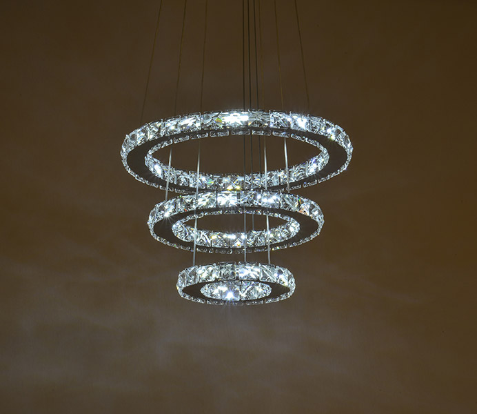 Led Modern K9 Crystal Chandelier Light with 110 V