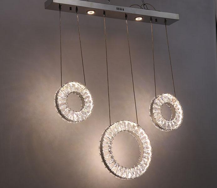 LED K9 Modern Crystal Chandelier Light Fixture to B2B