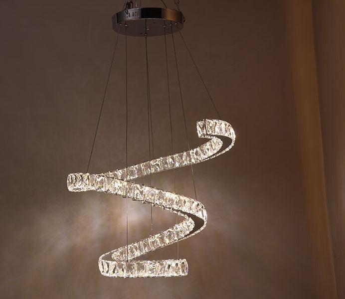 Led crystal chandelier wholesale for restaurant aloadofball Gallery