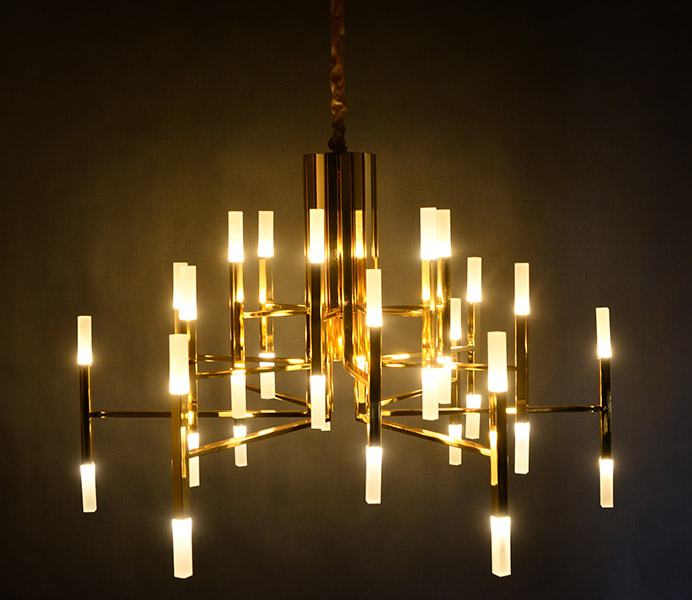 New Fashion Hotel Lobby Hall Modern Chandelier for Living Room