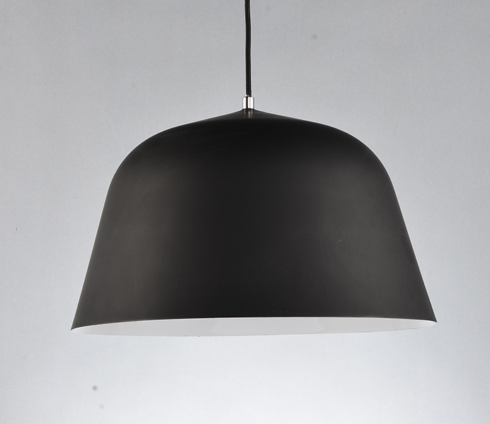 Black Color Simple Pendant Light for Kitchen