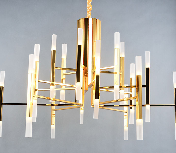 Modern Gold Color Suspension Chandelier Lights with CE