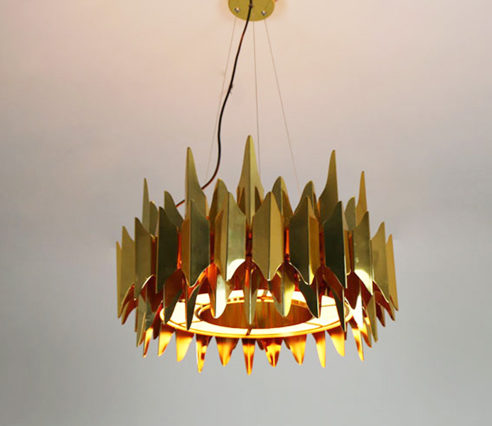 Hot Sale Designer Modern Pendant Lamp with Gold