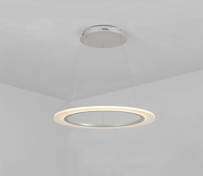 Modern 2 Rings White LED Pendant Lights for Dining Room