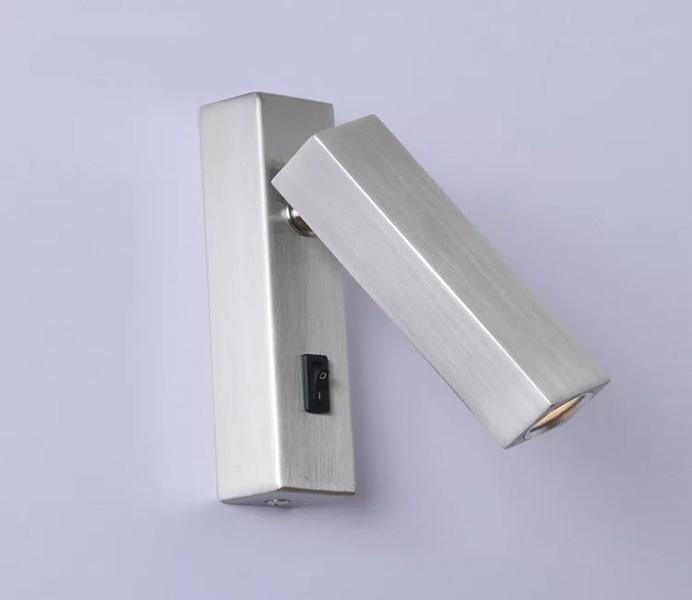 Hot Sale Aluminum Bathroom Wall Lamp with 3W