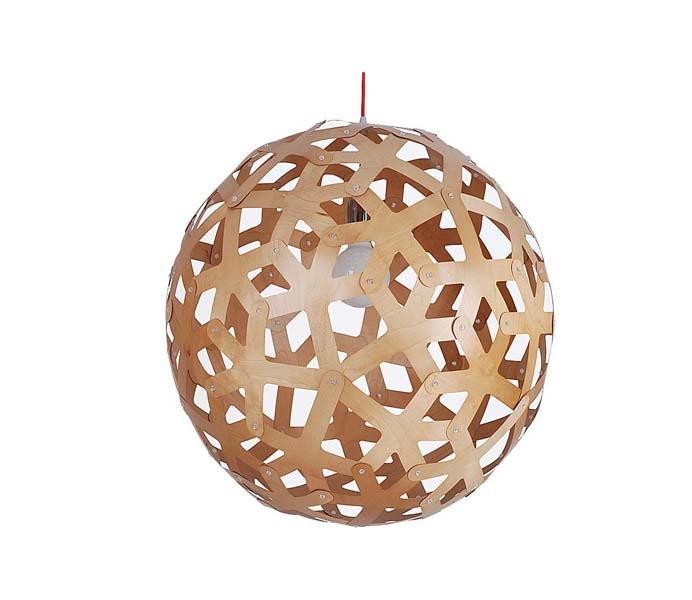 Lightingbird World Shade Timber Pendant Light Export to Australia
