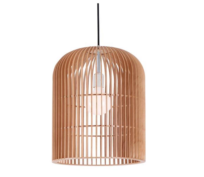 Wood Pendant Light For Dinning Room