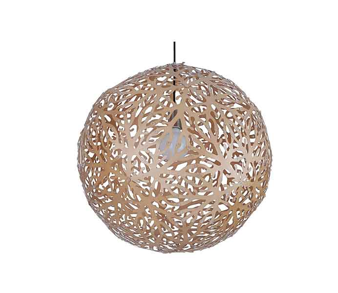Lightingbird Creative Snow Pendant Lamp with Ply Wood