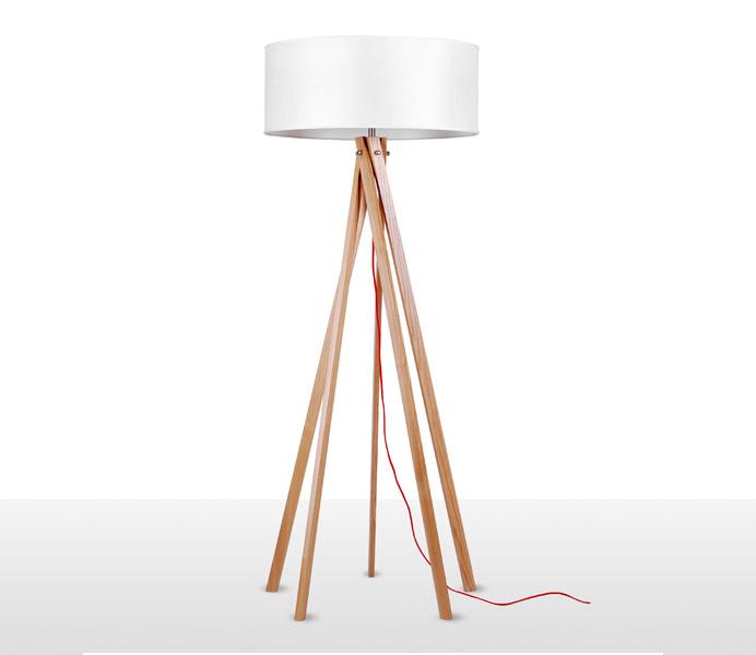 Torch Wooden Floor Lamp Export to Thailand