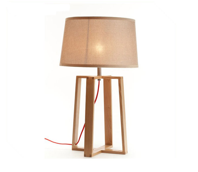 Hot Sale Desk Lamp with Ash Wood