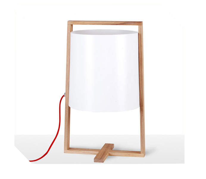 Simple Table Lamp with Chinese Style