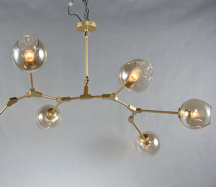 Top designed classic branched chandelier hanging lamp with clear glass aloadofball Images