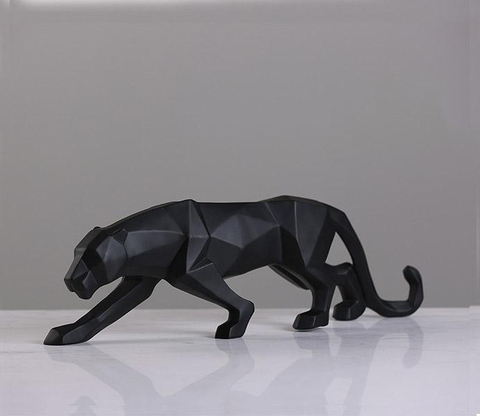 Handmade Leopard for Table Decor