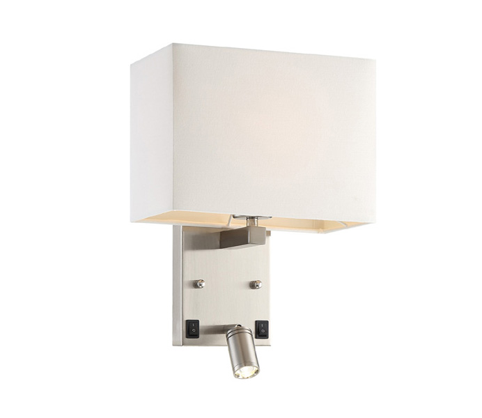 Chorme Metal Wall Lamp with LED 3W 3000K