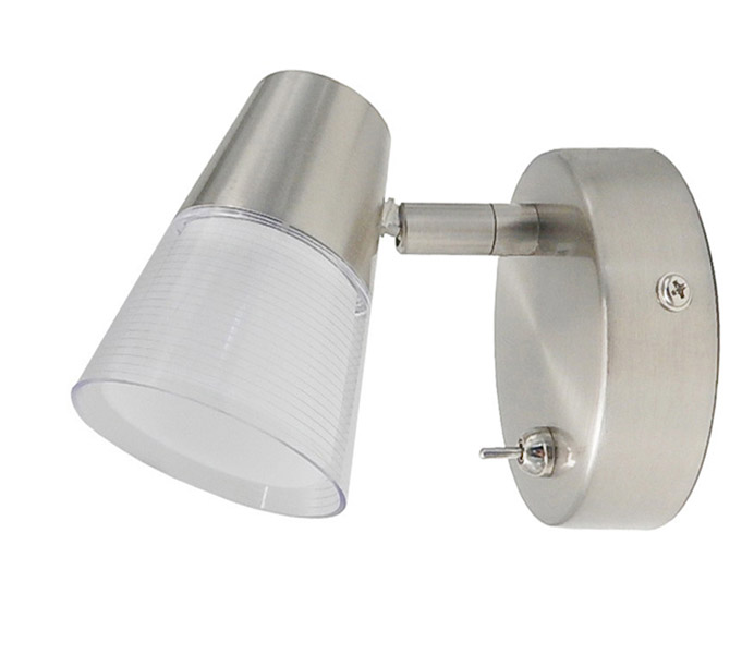 LED 5W Wall Light with Plastic Lampshade