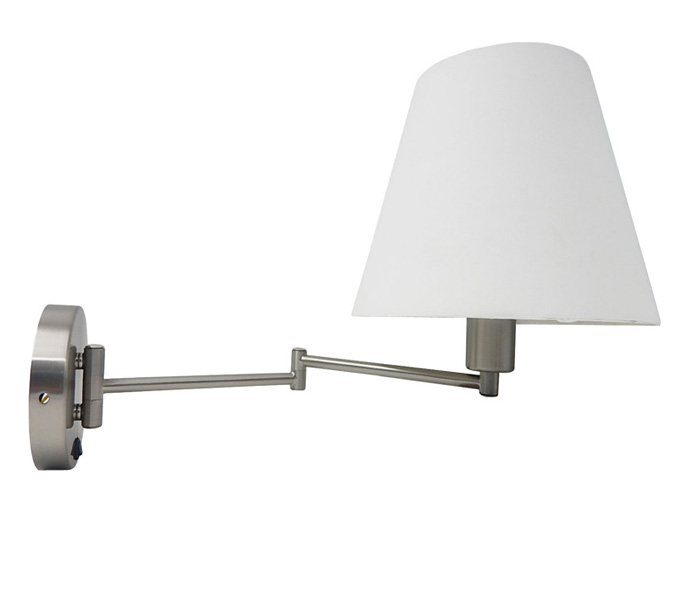 Classic Metal Wall Lamp for Hotel Bedroom