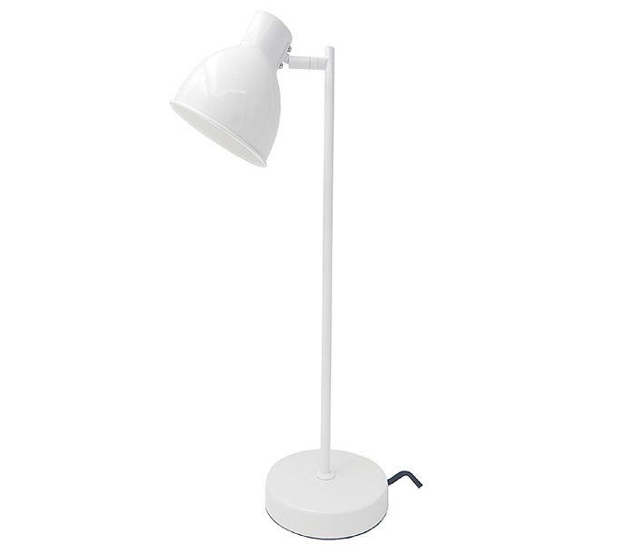 White Color Desk Lamp for Bedroom