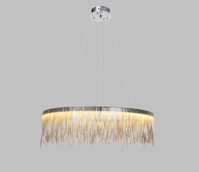 Chrome Color Aluminum Round Suspension Light for Wholesale