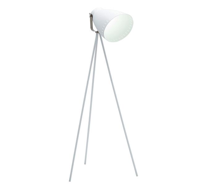 Grey Mingle Metal Tripod Floor Lamp: High Quality Minimalist Gray Tripod Floor Lamps With Metal