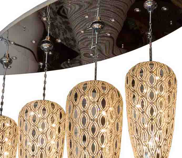 Amazing Luxury Crystal Handmade Chandelier with Italy Style