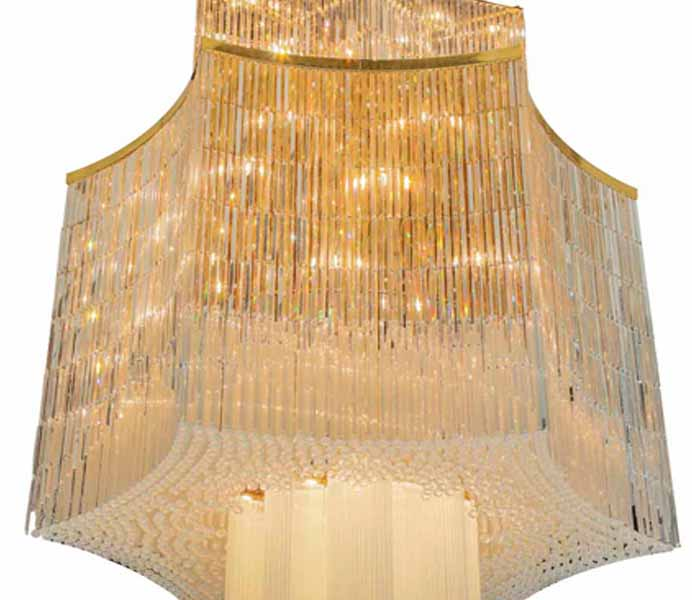 Large Customize Crystal Chandeliers