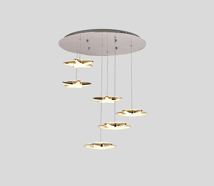 Unique Original Design LED Stars Pendant Lights Manufacture from Inlamp