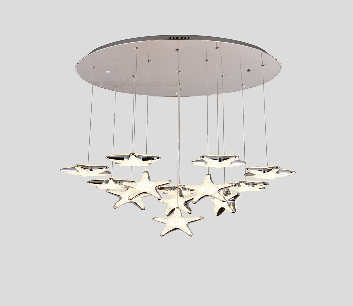 Unique Original Design LED Stars Pendant Lights Manufacture from Inlamp