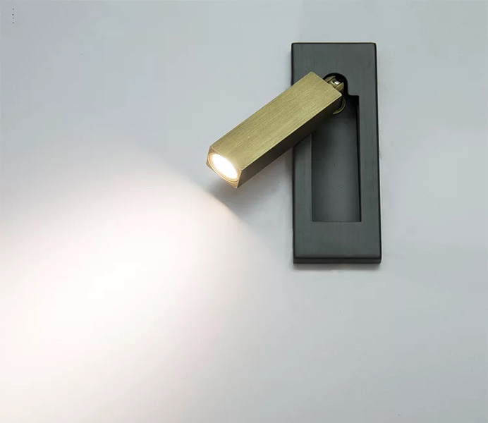 Modern Small Led Wall Light with Aluminum