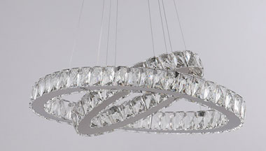What Is The Difference Between LED Crystal Chandelier And Flat Panel Light?