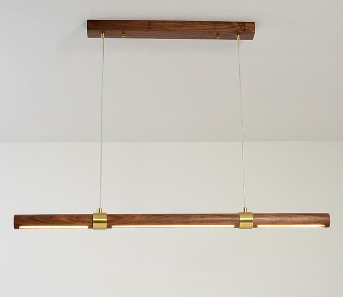 Hot Sale LED Wood Pendant Light for Kitchen Design