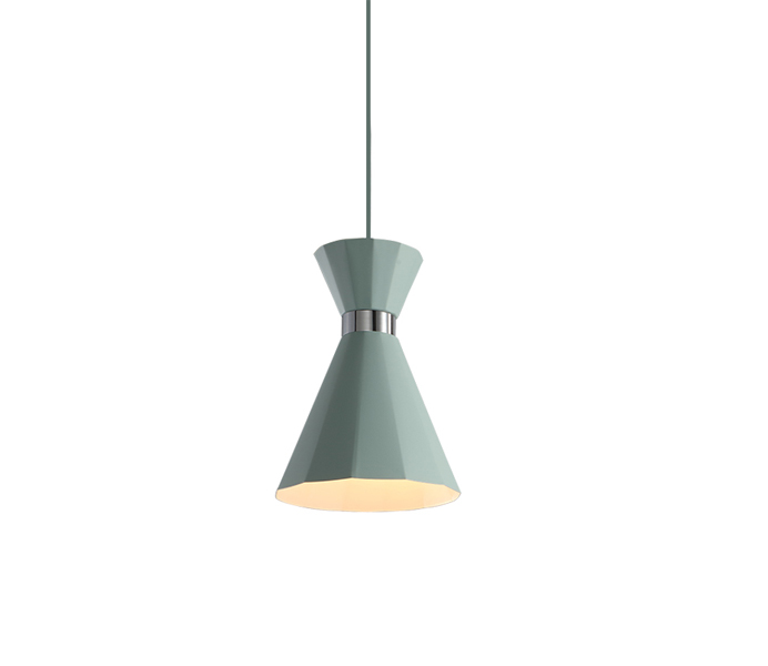 Simple White Aluminum Nordic Style Hanging Lamp Wholesale