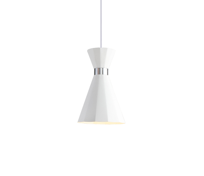 Simple White Aluminum Nordic Style Hanging Lamp Wholesale