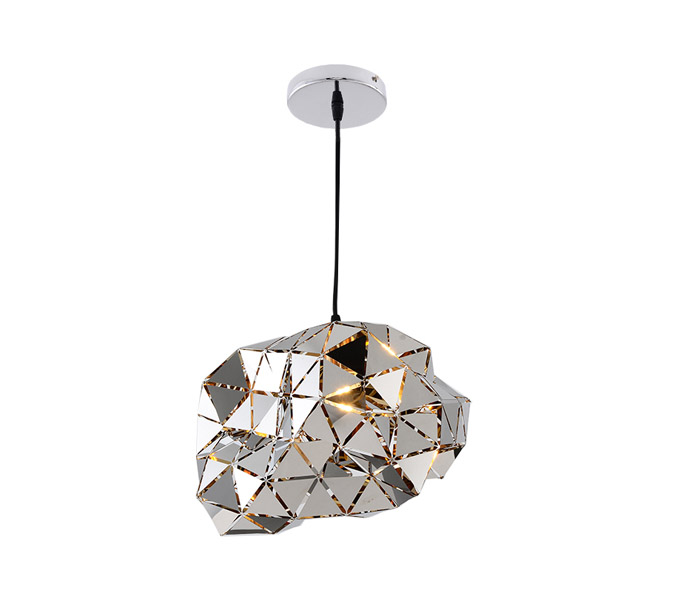 Creative Steel Chrome Dia400 Pendant Light with E27