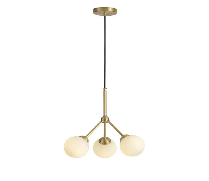 Dia 380 Brass Pendant Light with G9